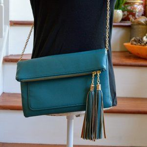 Charming Charlie Teal Crossbody Bag